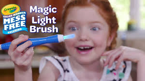 new crayola color wonder magic light brush crayola product demo