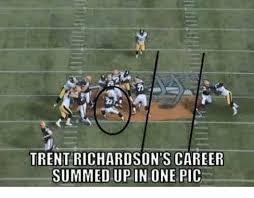 Trent Richardson Meme - trent richardson s career summed up in one pic meme on me me