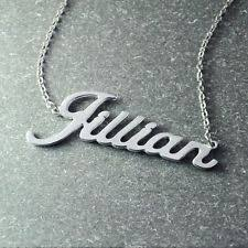 Custom Necklace Name Name Necklace Ebay
