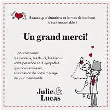remerciement mariage original faire part mariage original humoristique blanc gris belarto