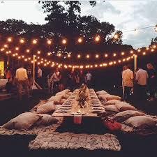 Backyard Wedding Lighting by Best 25 Backyard Party Decorations Ideas On Pinterest Backyard