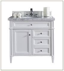 Bathroom Vanities 36 Inch White Bathroom Vanity 36 X 18 Cabinet And Sink Luxury Vanities