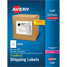 shipping labels with trueblock technology walmart com