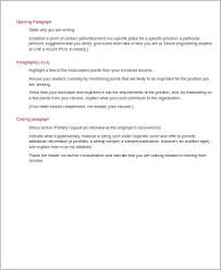 cover letter sample closing paragraph
