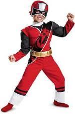 Ninja Halloween Costume Boys Disguise Power Ranger Red Ninja Steel Toddler Muscle Halloween