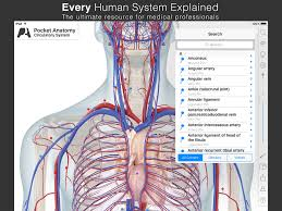 Anatomy And Physiology Apps Pocket Anatomy Interactive 3d Human Anatomy And Physiology App