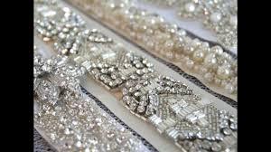 wedding dress sashes couture bridal sashes