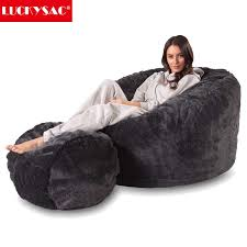 5ft 6ft 7ft micro suede lazy boy bean bags large size foam bean