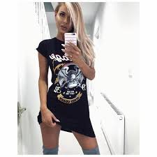 2017 summer women black graffiti eagle print t shirt