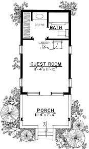 guest houses house plans home deco plans