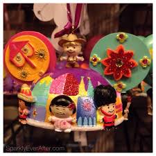 it s a small world ornament sparkly after