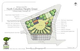 Butterfly Garden Layout by North Columbia Heights Green Update Park View D C