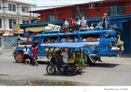 philippines tricycle design crowded philippine jeepney photo