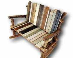 Wood Rocking Chair Wooden Rocking Chair Etsy