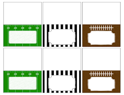 football food labels free printable paper trail design