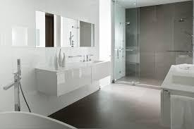 unbelievable white modern bathrooms design decorating ideas