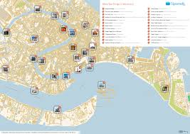 Norcia Italy Map by Walking Tour Map Of Venice Italy Greece Map