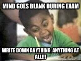 Exam Memes - exam fail memes quickmeme