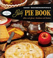 vintage 1950s cookbook housekeeping pie book cooking