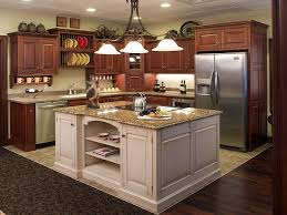 Custom Kitchen Furniture by Minimalist L Shape Half Open Custom Kitchen Cabinets Amish Custom