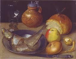 17th century cuisine 769px flegel stilleben mit hering und bartmannskrug jpg 769 599