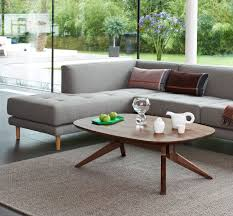 cross oval coffee table by matthew hilton case furniture