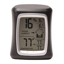 Patio Clock And Thermometer Sets by Shop Thermometer Clocks At Lowes Com