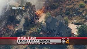 Chicago Wildfire Highlights by Wildfire Coming Close To Homes Near Berthoud Cbs Denver