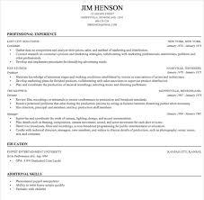 Easy Resume Sample by Easy Resume Builder Resume Example