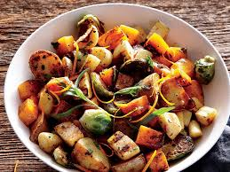 vegetable recipes for thanksgiving cooking light