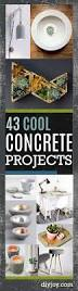 Diy Craft Projects For Home Decor Best 25 Concrete Crafts Ideas On Pinterest Cement Crafts