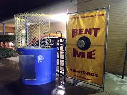dunk booth rental la porte dunk tank rental lil jacks