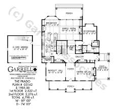 Colonial Style Floor Plans by Prado House Plan House Plans By Garrell Associates Inc