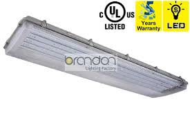 Vapor Tight Fluorescent Light Fixture Led Vapor Tight Brandon Lighting Fixture