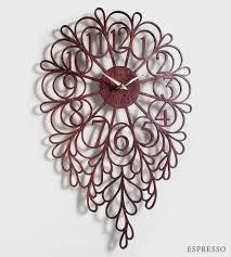 Wood Clock Darling Lite Laser Cut Wood Clock Home Decor U0026 Lighting Sarah