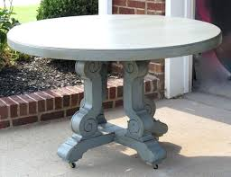silverado chrome 47 round dining table 47 round dining table industrial round glass top hand crank dining