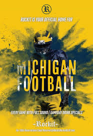 michigan football saturdays in chicago at rockit bar and grill