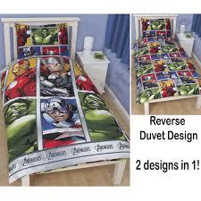 marvel duvet cover sets single double king comics avengers