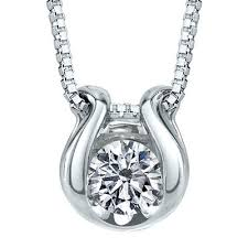 pendant necklace white gold images Sirena 1 12 ct t w diamond solitaire 14k white gold pendant
