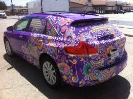 toyota venza purple car wrap car u0027s u0026 stuff pinterest toyota