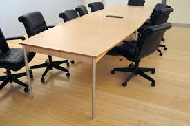 Boat Shaped Boardroom Table Milder Office Conference