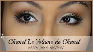 Mascara Chanel chanel le volume de chanel mascara review