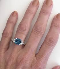 london blue topaz engagement ring cushion london blue topaz ring three design gr 6086