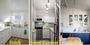 kitchen stock cabinets kitchen cabinet styles the differences between stock semi custom