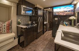 ford earthroamer interior ever carbon fiber luxury camper trailer costs nearly 1m w video