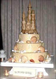 my sand castle wedding cake by savoie u0027s fare orange county beach