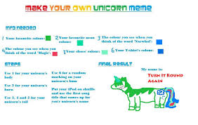 Create A Meme Using Your Own Picture - make your own unicorn meme by apelican on deviantart