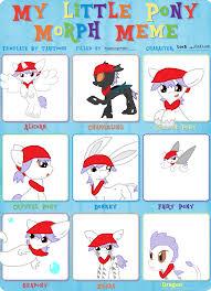 Meme My Little Pony - my little pony morph meme red lock by kogafangirl4life on deviantart