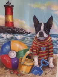 Boston Terrier Flag Beach Garden Flags Home Design Ideas And Pictures
