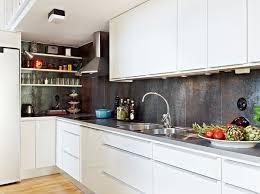 Scandinavian Design Beautiful Apartment With Mezzanine In - Simple kitchen interior design pictures